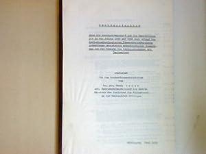 Rechtsgutachten über die Rechtswirksamkeit und die Rechtsfolgen der in den Jahren 1945 und 1946 ...