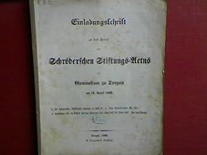 De Iphigeniae Aulidensis auctore et fatis P.I.: Graser, Friedr. Wilh.