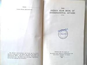 The Indian Year Book of International Affairs: Alexandrowicz, Charles Henry: