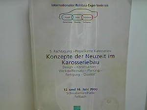 """Hochfeste nicht rostende Stähle und ihr Potenzial im Karosseriebau. - in : 5. Fachtagung """"..."""