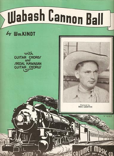 Wabash Cannon Ball Words And Music By William Kindt With Guitar