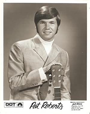 PROFESSIONAL PHOTOGRAPH OF PAT ROBERTS: Country & Western performer.