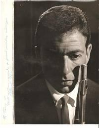 PROFESSIONAL PHOTOGRAPH OF THE JAZZ FLUTIST, INSCRIBED & SIGNED