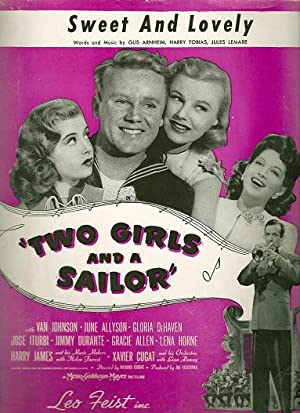"""SWEET AND LOVELY; """"Two Girls and A: Sweet.sheet music"""