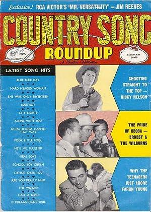 COUNTRY SONG ROUNDUP, No. 57 Exclusive! RCA: Silver, Norman, editor