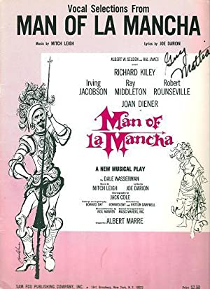 "VOCAL SELECTIONS FROM ""MAN OF LA MANCHA"";: MAN OF LA"