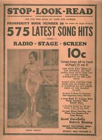 PROSPERITY BOOK NO. 29:; 575 Latest Song: International Music