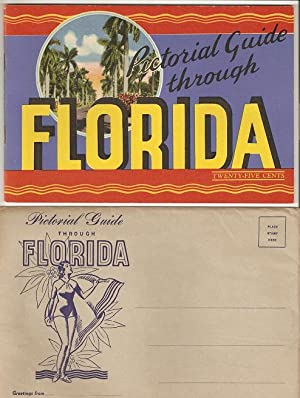 PICTORIAL GUIDE THROUGH FLORIDA:; Greetings from Florida,: Florida