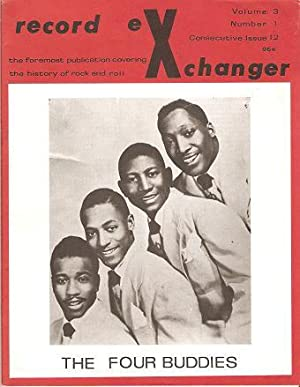 RECORD EXCHANGER, Volume 3, No. 1, Consecutive Issue 12, Winter 1973: The Foremost Publication Co...