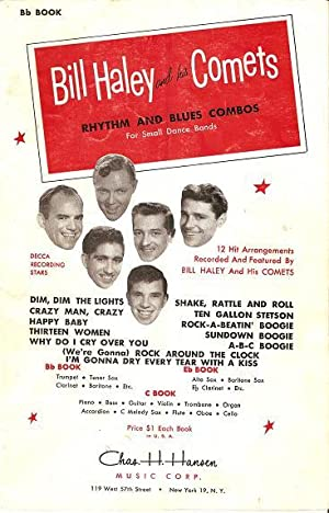 BILL HALEY AND HIS COMETS: Rhythm and Blues Combos for Small Dance Bands [songbook].