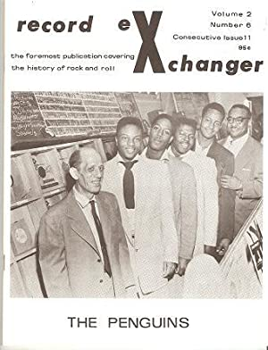 RECORD EXCHANGER, Volume 2, No. 6, Consecutive Issue 11, 1972: The Foremost Publication Covering ...