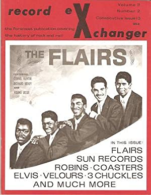 RECORD EXCHANGER, Volume 3, No. 2, Consecutive Issue 13, February 1973: The Foremost Publication ...