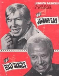 LONDON PALLADIUM PICTURE BOOK & PROGRAMME: JOHNNIE RAY, BILLY DANIELS, FRANCES FAYE, THE INK SPOTS