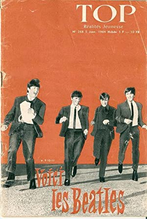 VOICI LES BEATLES: Cover story in the January, 1964 edition of