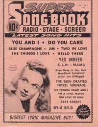 SUPER SONG BOOK: Radio * Stage *: D.S. Publishing Company
