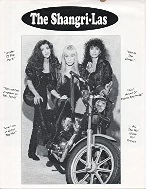 THE SHANGRI-LAS [cover group]: Publicity brochure.