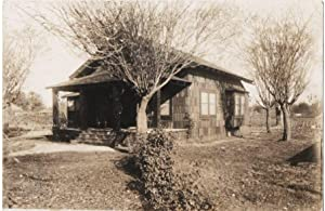 ORIGINAL PHOTOGRAPH OF A COTTAGE AND GARDEN AT 426 A ST., BAKERSFIELD, CA