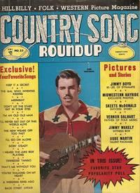 COUNTRY SONG ROUNDUP, No. 23, April 1953. Hillbilly - Folk - Western Picture Magazine.: Silver, ...