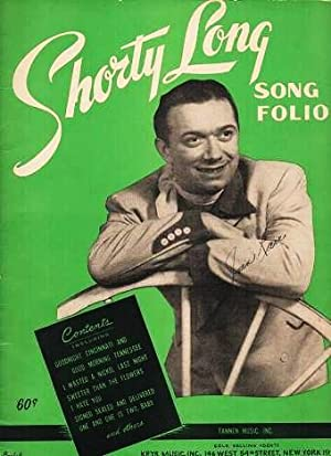 SHORTY LONG SONG FOLIO