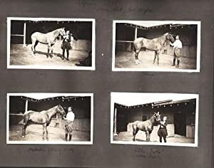 PHOTOGRAPH ALBUM OF 234 VERNACULAR IMAGES, FEATURING POLO IN SOUTHERN CALIFORNIA AND A FITZPATRICK ...