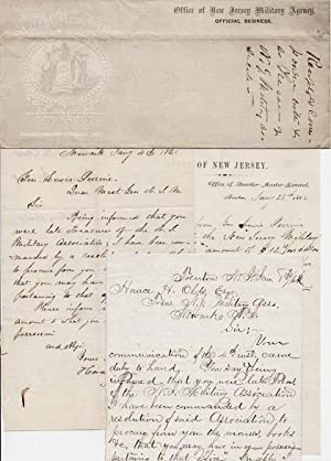 SMALL ARCHIVE OF HANDWRITTEN CORRESPONDENCE TO AND FROM GENERAL LEWIS PERRINE, QUARTERMASTER-GENE...