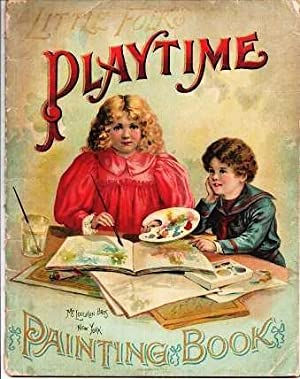 LITTLE FOLKS' PLAYTIME PAINTING BOOK