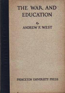 THE WAR AND EDUCATION: ADDRESSES. Together with a translation of the War Address of M. Lafferre, ...