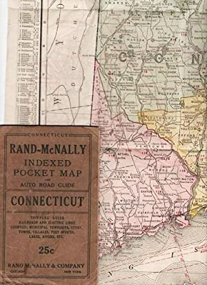 Rand Mcnally Indexed Pocket Map And Auto Road Guide