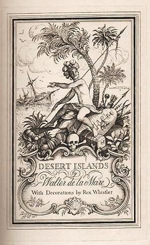 DESERT ISLANDS AND ROBINSON CRUSOE. With Decorations: De La Mare,