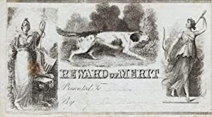 ENGRAVED, WOMAN-RELATED REWARD OF MERIT