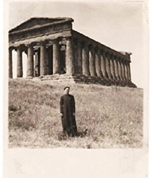 PHOTOGRAPH ALBUM OF 71 VERNACULAR IMAGES, DOCUMENTING AN AMERICAN PRIEST'S TRIP THROUGH SICILY AN...