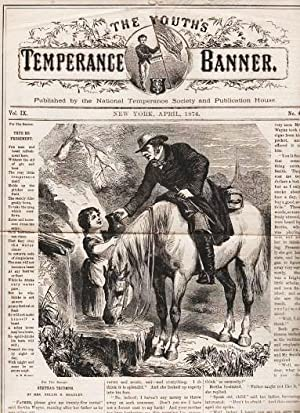 THE YOUTH'S TEMPERANCE BANNER, Vol. IX, No. 4, April, 1874