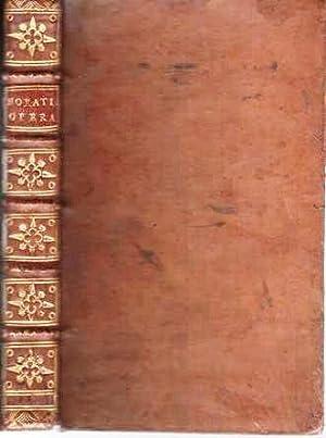 QUINTUS HORATIUS FLACCUS [OPERA]: Ad Lectiones Probatiores: Horace
