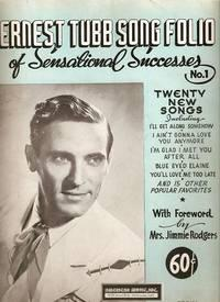 ERNEST TUBB SONG FOLIO OF SENSATIONAL SUCCESSES, No. 1