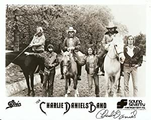 SIGNED, PROFESSIONAL PHOTOGRAPH OF THE CHARLIE DANIELS BAND