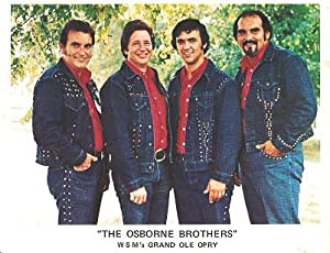 SIGNED, PROFESSIONAL PHOTOGRAPH OF THE OSBORNE BROTHERS (BOBBY, SONNY & ROBBY) AND DALE SLEDD:; W...
