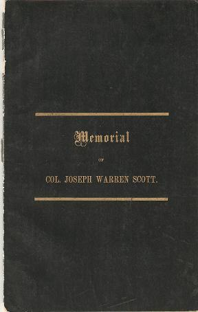 ADDRESS DELIVERED AT THE FUNERAL OF THE: Jewett, A.D. Lawrence
