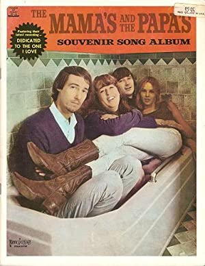 THE MAMAS AND THE PAPAS SOUVENIR SONG ALBUM.