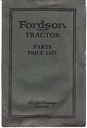 ford motor company - parts list - AbeBooks