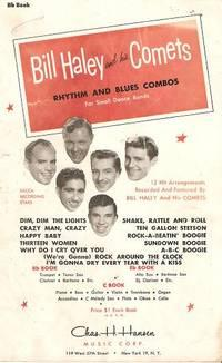 BILL HALEY AND HIS COMETS: Rhythm and Blues Combos. For Small Dance Bands -- Bb Book.