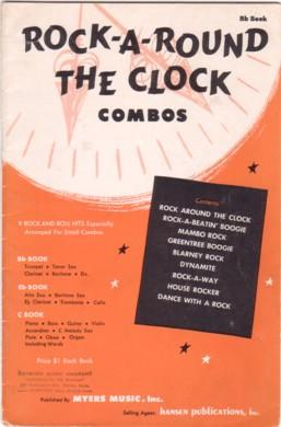 ROCK-A-ROUND THE CLOCK: Combos / B-flat Book. By Bill Haley and others
