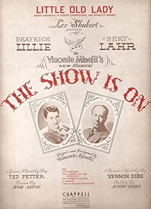 Sheet music (1) from this Broadway show: SHOW IS ON
