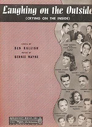 LAUGHING ON THE OUTSIDE (CRYING ON THE: Laughing.sheet music