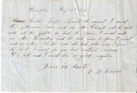 AUTOGRAPH LETTER SIGNED (ALS), CAMPTON [NH], TO: Currie, E.B.