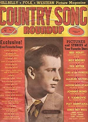 COUNTRY SONG ROUNDUP, No. 3, December 1949.; Hillbilly - Folk - Western Picture Magazine: Hersey, ...