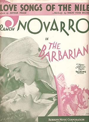 Sheet music (1) from this early movie: BARBARIAN, THE (1933)