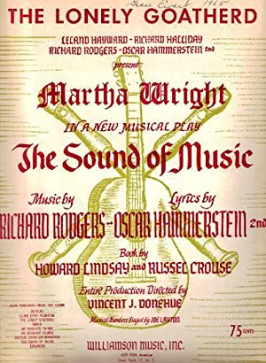 Sheet music (1) from this Broadway show.: SOUND OF MUSIC