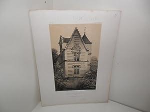Paris, Lithographie Godard. Lithographie originale, teintée, issue: PETIT, Victor