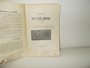 Bulletin de la Société d'Etudes Scientifiques de: COLLECTIF, Jean GIROU,