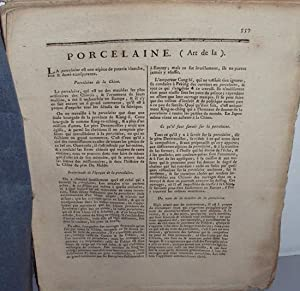 Encyclopédie Méthodique Panckoucke : Arts et Métiers: LA PLATIERE ROLAND